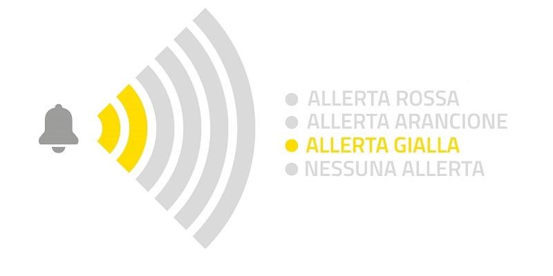 livello di allerta: gialla